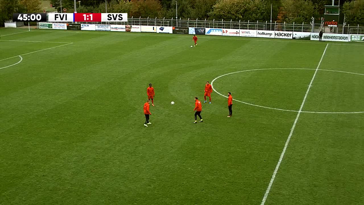 SV Rödinghausen gegen SG Wattenscheid