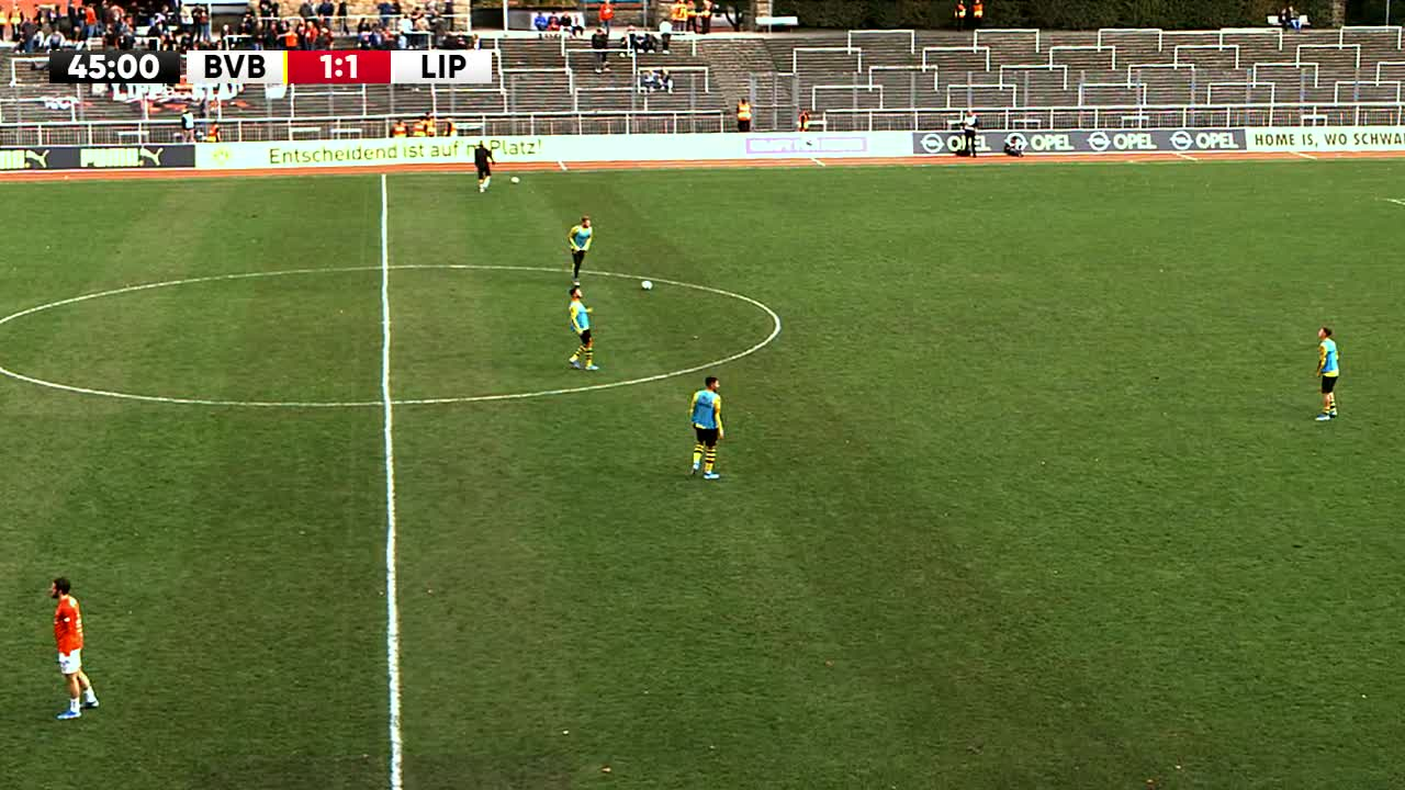 Borussia Dortmund U23 gegen SV Lippstadt 08