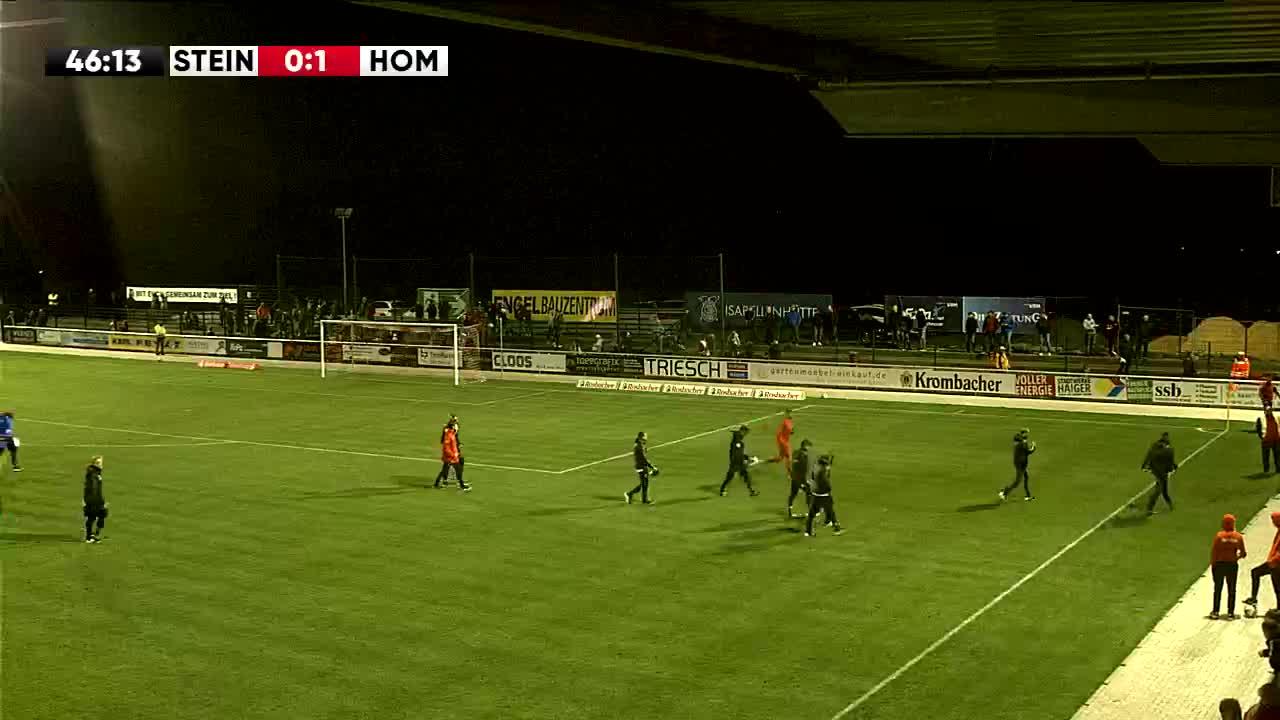 TSV Steinbach Haiger gegen FC 08 Homburg