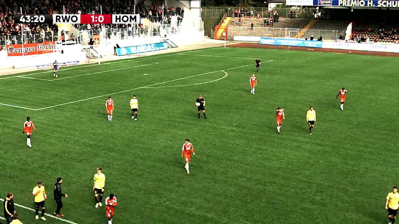Rot-Weiß Oberhausen gegen VFB Homberg