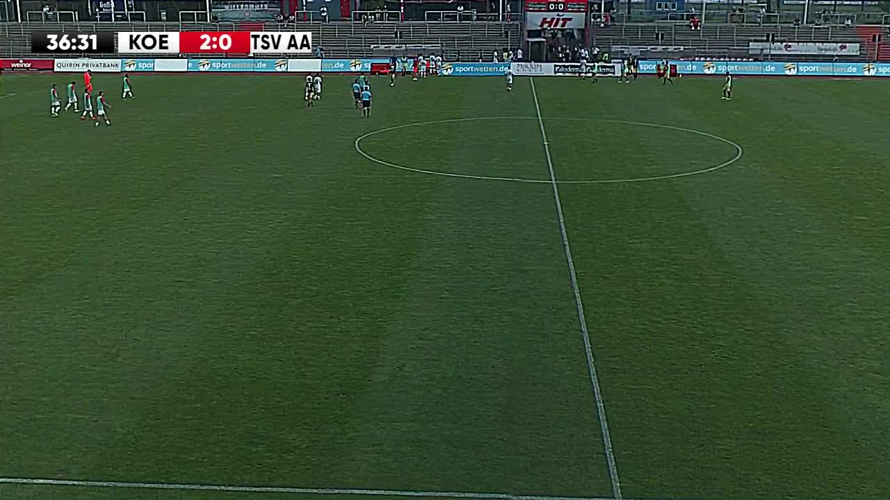 1. FC Köln U21 gegen TSV Alemannia Aachen