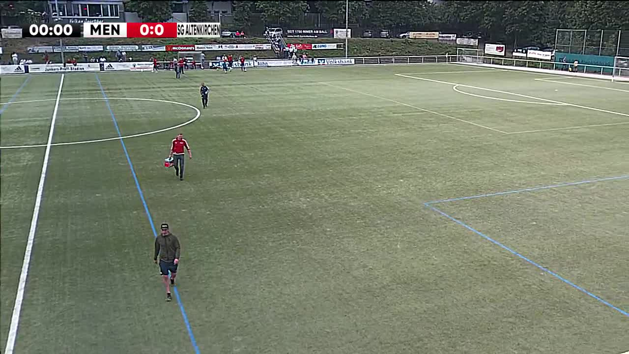 SG Eintracht Mendig/Bell gegen SG Altenkirchen