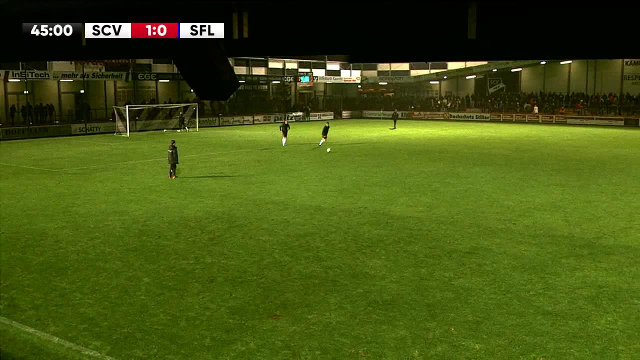 SC Verl gegen VfL Sportfreunde Lotte