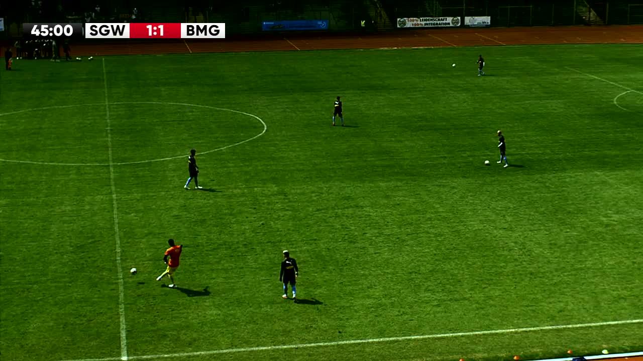 SG Wattenscheid gegen Borussia Mönchengladbach U23 2