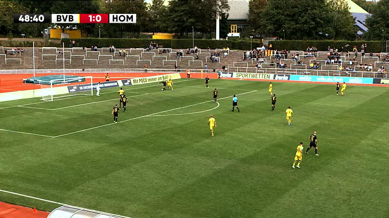 Borussia Dortmund U23 gegen VFB Homberg