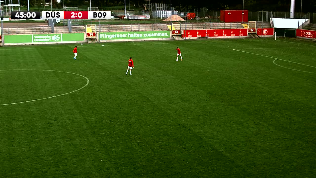 Fortuna Düsseldorf U23 gegen SV Bergisch Gladbach