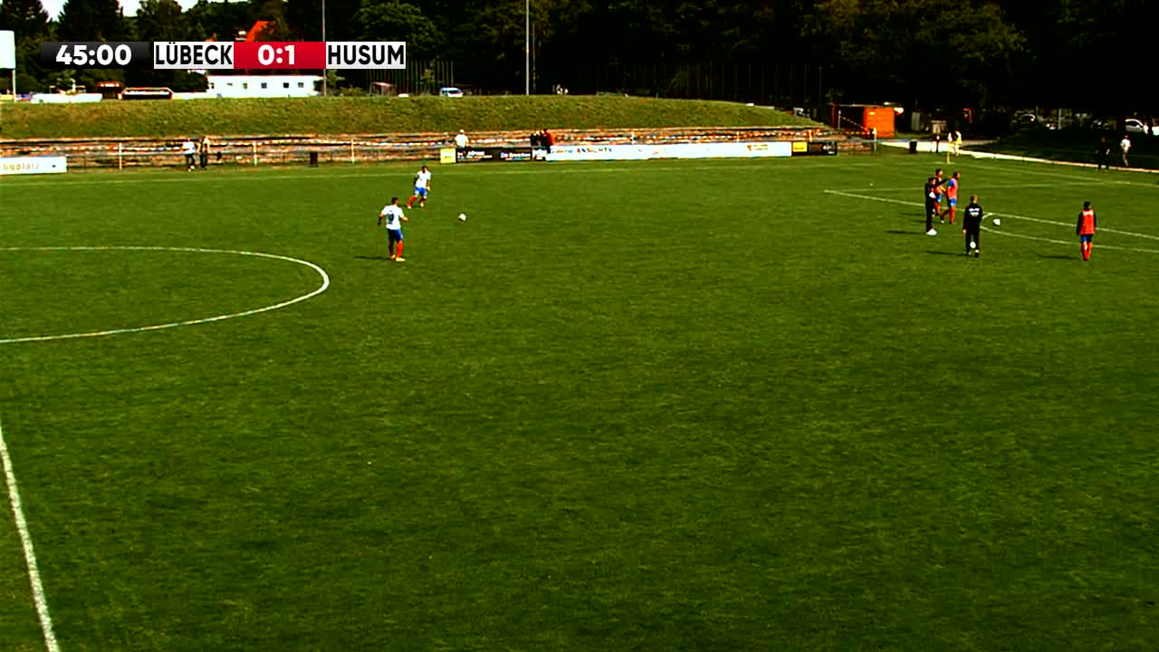 1.FC Phönix Lübeck gegen Husumer SV