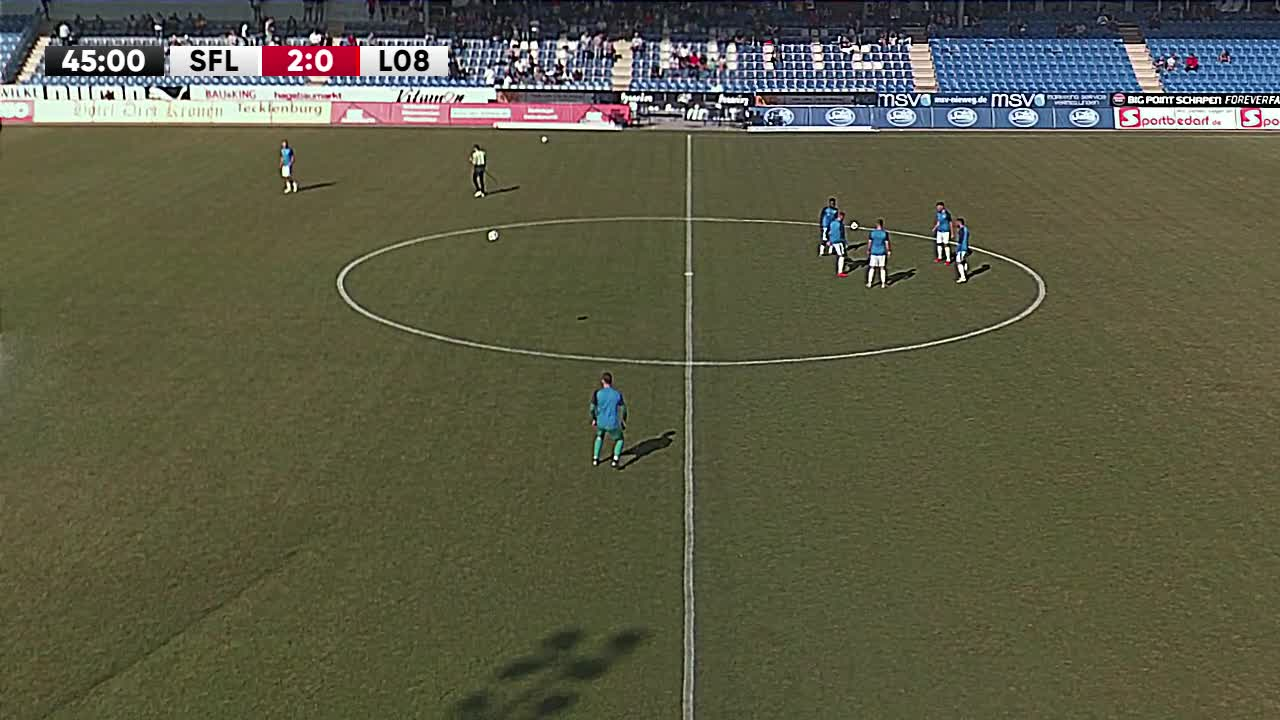 VfL Sportfreunde Lotte gegen SV Lippstadt 08