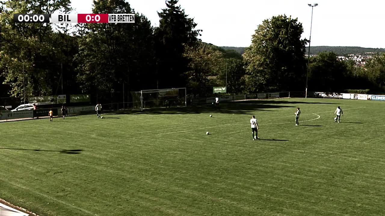 TuS Bilfingen gegen VfB Bretten