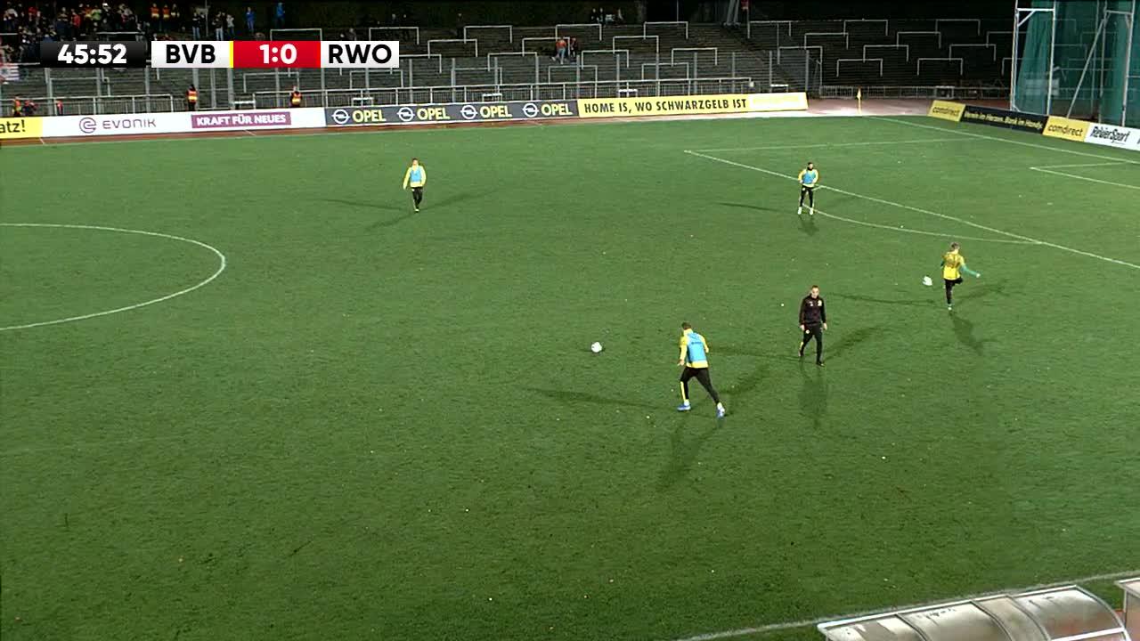 Borussia Dortmund U23 gegen Rot-Weiß Oberhausen