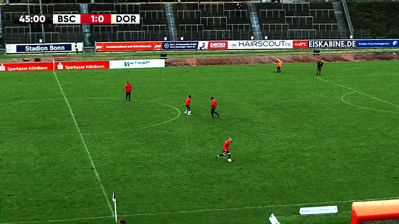 Bonner SC gegen Borussia Dortmund U23