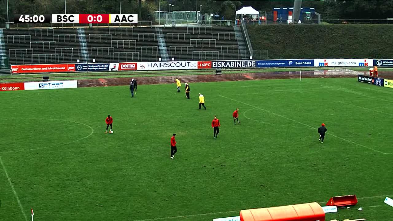 Bonner SC gegen TSV Alemannia Aachen