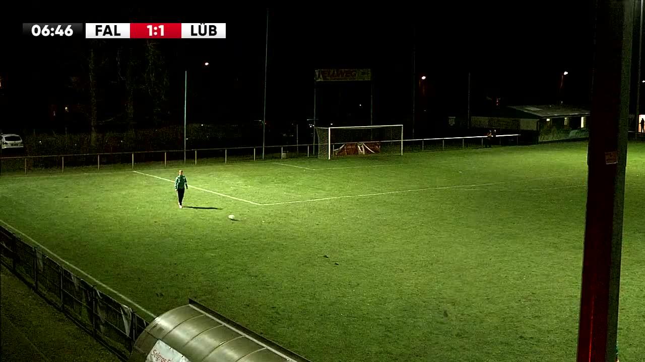 SV Falkensee-Finkenkrug gegen SV Grün-Weiß Lübben