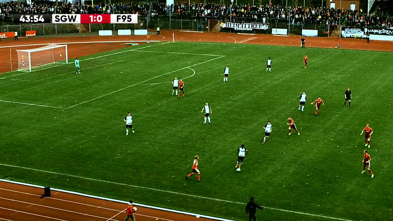 SG Wattenscheid gegen Fortuna Düsseldorf U23