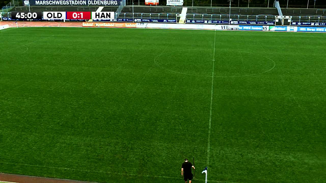 VfB Oldenburg gegen Hannover 96 II (U23)