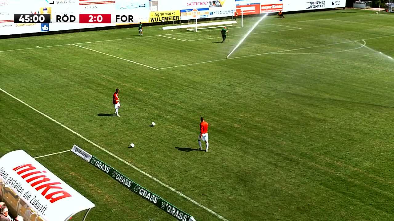 SV Rödinghausen gegen SC Fortuna Köln