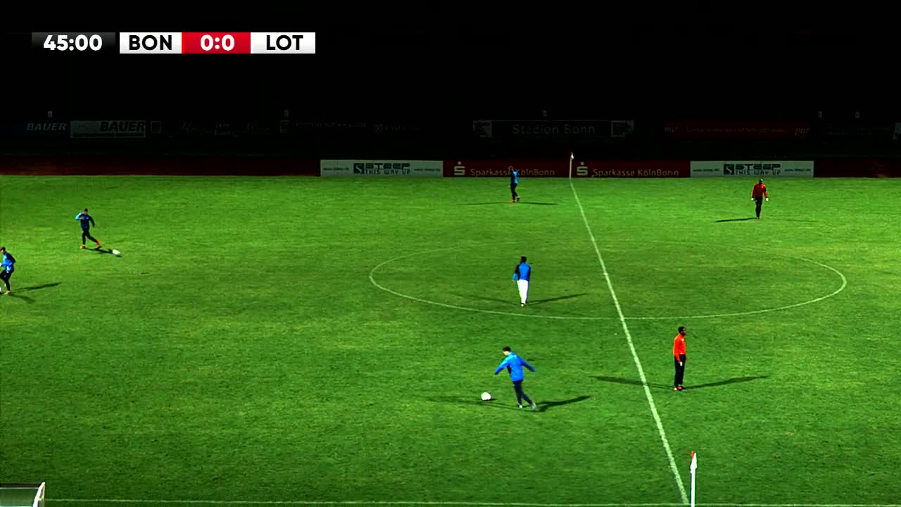 Bonner SC gegen VfL Sportfreunde Lotte