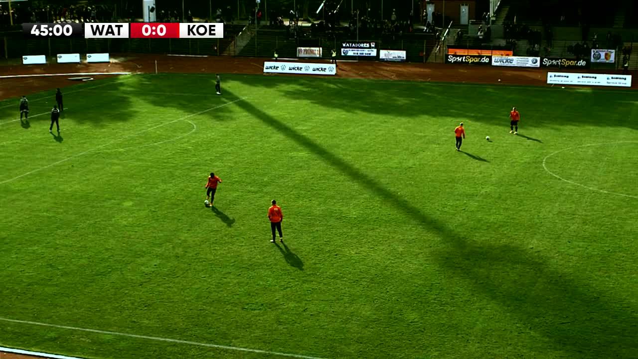 SG Wattenscheid gegen 1. FC Köln U21