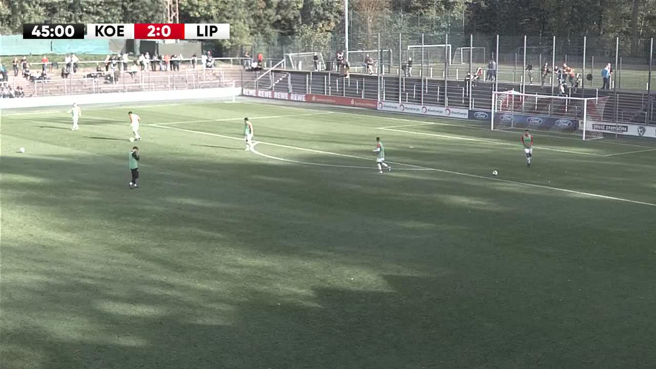 1. FC Köln U21 gegen SV Lippstadt 08